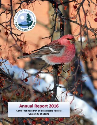 Cover image for 2016 CRSF annual report
