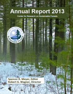 cover photo 2013 CRSF annual report