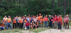 Photo of CAFS 2019 field tour participants