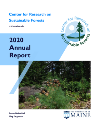 2020 CRSF Annual Report cover