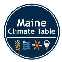 Maine Climate Table logo